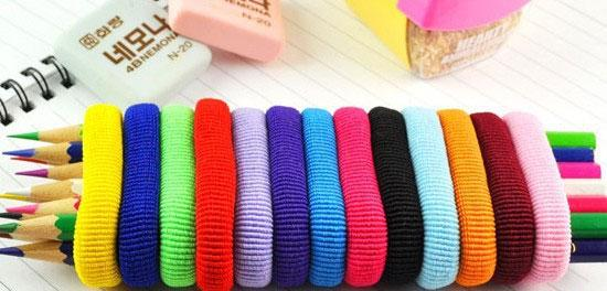 ... Hair Ties Super Fat Nylon Braiding or Loose by Longhairs® No-Metal -  Image d538c8b83e6