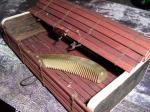 Bamboo Mahogany Flattop Storage Box
