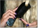 OUR HORN COMBS BLACK OX HORN   Long & Growing® Hairgasm® Longhairs®