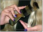 "CLASSIC SCRITCHER 5.5-6"" Stimulating Sheeps Horn Comb - Image #3"