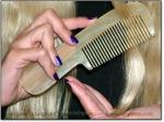 SCRITCHERS® HORN COMBS WITH HANDLES