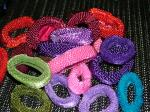 Hair Ties Super Fat Nylon or Fat Silky by Longhairs® No-Metal