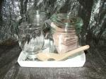 Blood Nutrients Sacred Non-Salts Deluxe Glass Brining 'Keep Tidy' Set