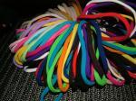 Hair Ties Loopy-Loops Long Tubular Binding Hair Bands by Longhairs® No-Metal