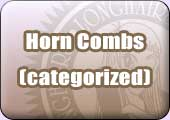 Categorized list of horn combs
