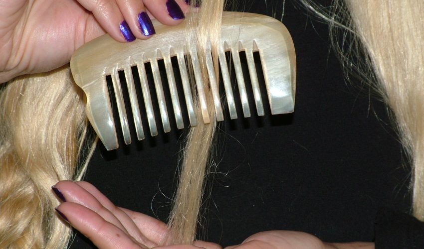 Combs for long hairs